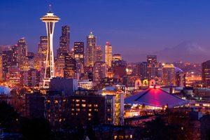 Seattle Postcard View